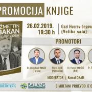 """Promocije knjige """"Nedžmettin Erbakan – život, djelo, ideja"""""""