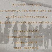 74 godine od ustaškog zločina na Marijin Dvoru u Sarajevu
