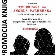 """""""Telegrami za Angela Palmerasa"""" knjiga o zločinima tzv. Herceg-Bosne biće promovisana u Novom Pazaru"""