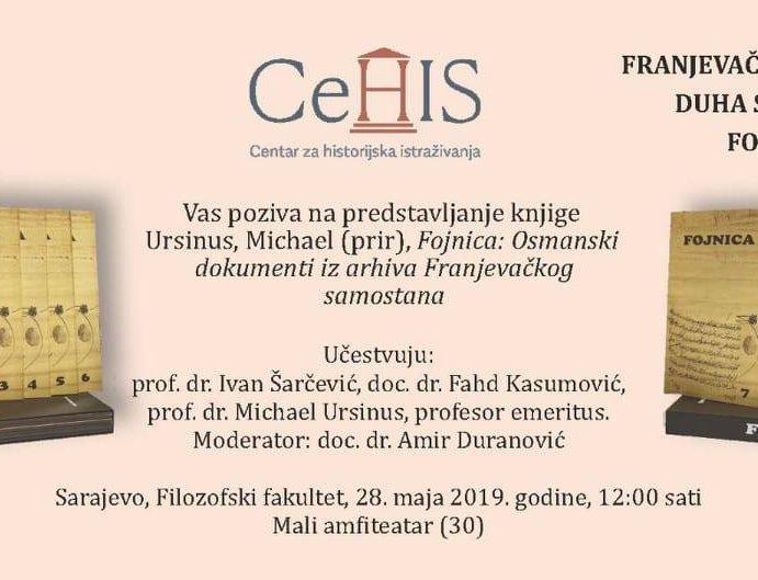 Promocija knjige: Osmanski dokumenti iz arhiva Franjevačkog samostana