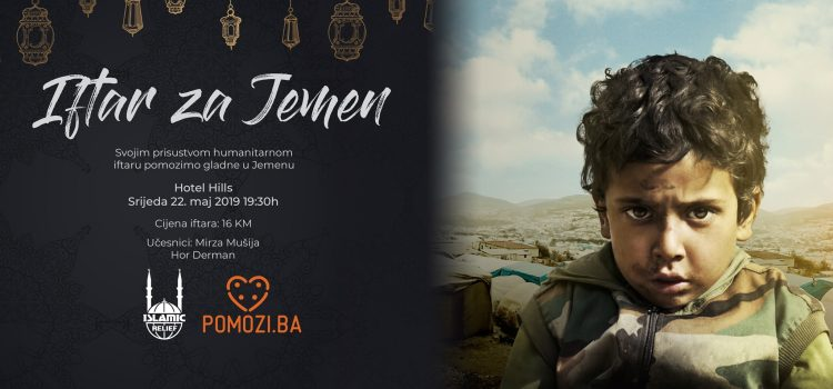 Islamic Relief organizuje humanitarni iftar s ciljem pomoći ugroženima u Jemenu