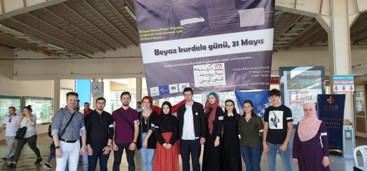 Asocijacija bošnjačke omladine u Istanbulu obilježila Dan bijelih traka