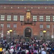 Tradicionalni iftar zajednice muslimana u Kopenhagenu