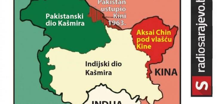 Indija i Pakistan su do sada vodile tri rata zbog kontrole nad Kašmirom