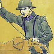 Kraljevina Italija je u Prvom svjetskom ratu lavirala između dva saveza sa ciljem da ostvari teritorijalno širenje