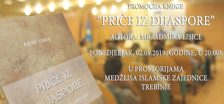 """Promocija knjige """"Priče iz dijaspore i domovinskih zemalja"""" u Trebinju"""