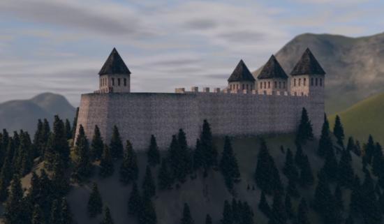 Srednjovjekovna tvrđava Hodidjed bila je predmetom istraživanja mnogih historičara