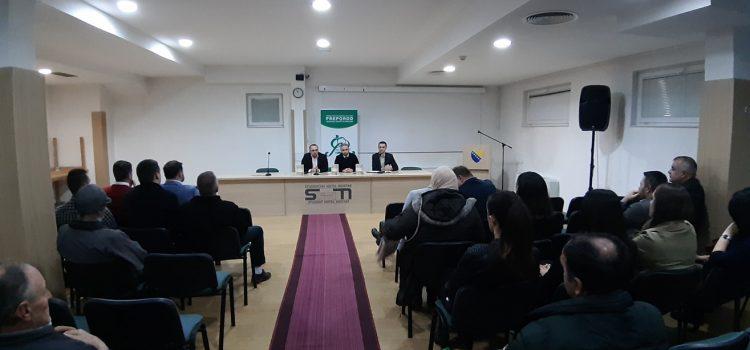 """U organizaciji BZK Preporod u Mostaru predstavljena knjiga """"Priče iz dijaspore i domovinskih zemalja"""""""