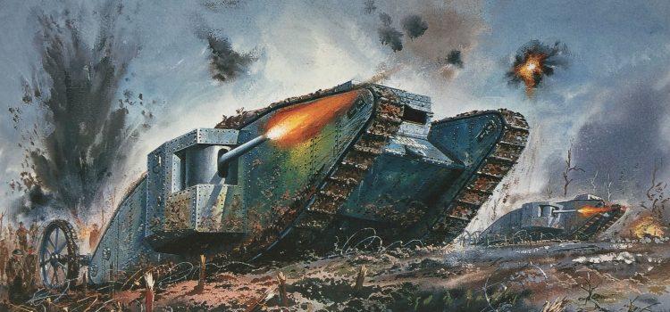 Rana historija tenkovskog ratovanja: Prvi svjetski rat